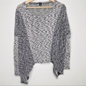 Sparkle and Fade Anthropologie Oversized Sweater